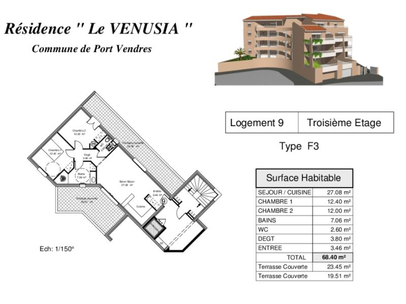 Sale apartment Port vendres 280000€ - Picture 5