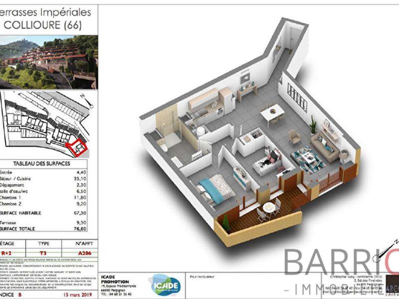 Vente appartement Collioure 240600€ - Photo 2