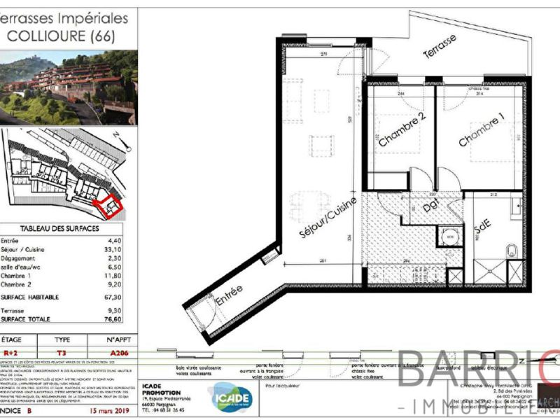 Vente appartement Collioure 240600€ - Photo 3
