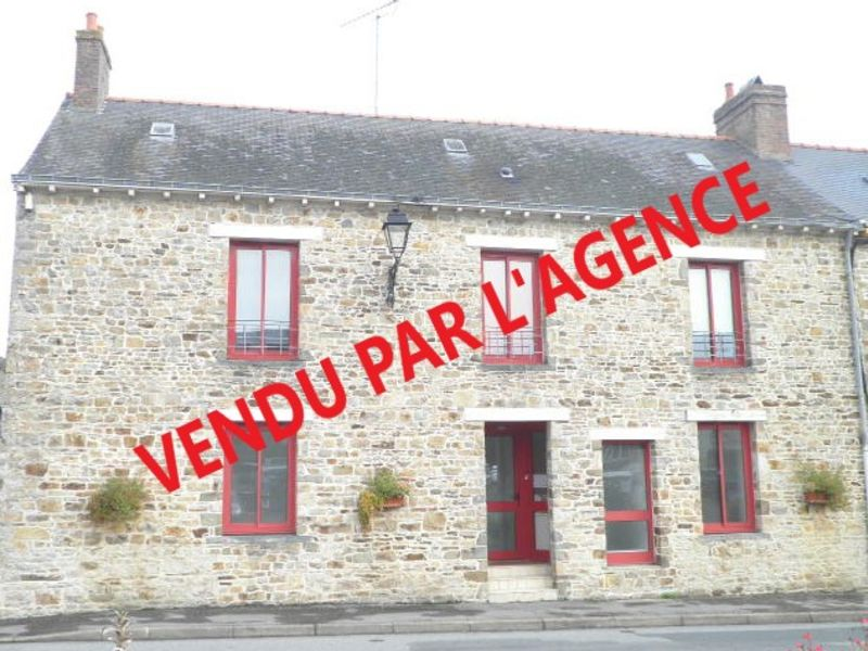 Sale building Martigne ferchaud 124995€ - Picture 1