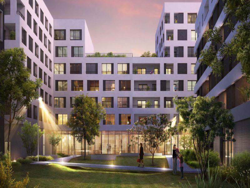 Rental apartment Villeurbanne 640€ CC - Picture 1