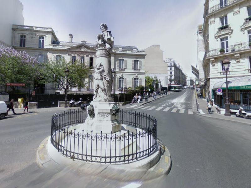 Commercial property sale shop Paris 9ème 250 000€ - Picture 1