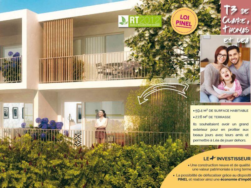 Vente appartement Tresses 184800€ - Photo 2