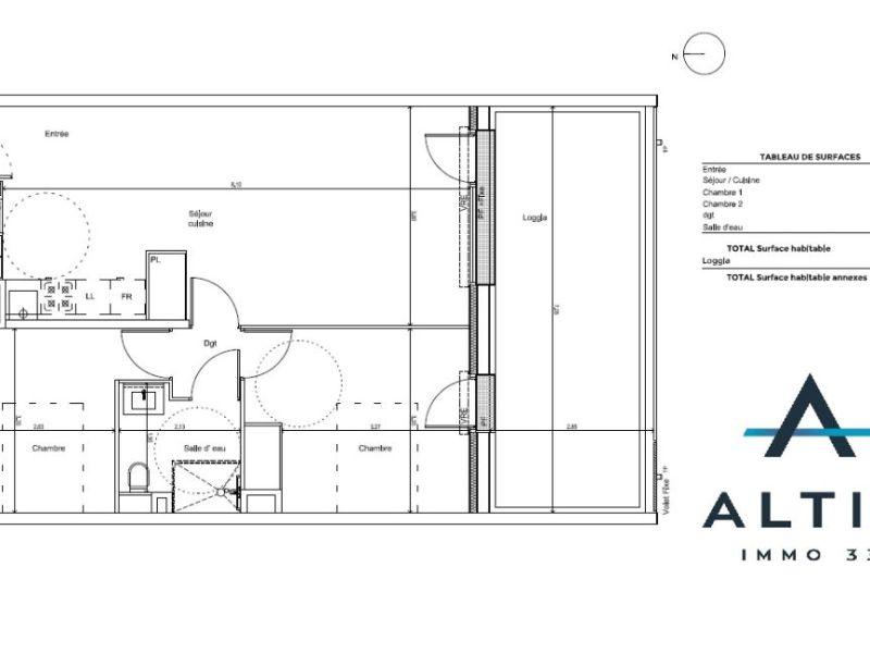Appartement Tresses 3 pièce(s) 59 m2