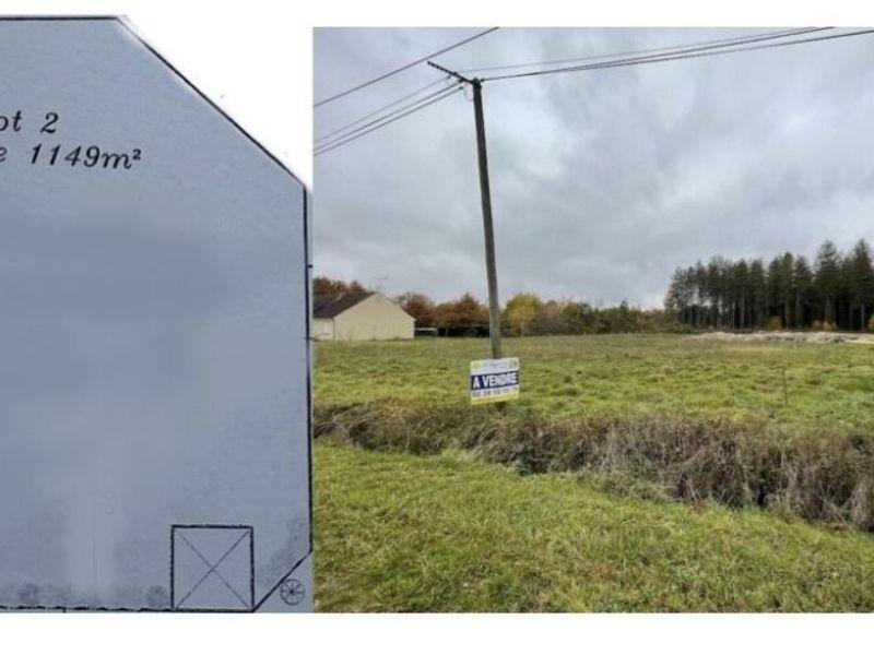 Vente terrain Vannes sur cosson 50000€ - Photo 1