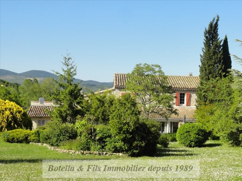 Vente maison / villa Barjac 572000€ - Photo 1
