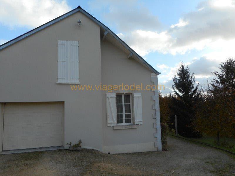 Verkauf auf rentenbasis haus Veaugues 93500€ - Fotografie 5