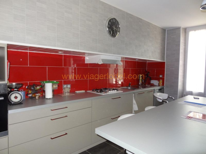 Verkauf auf rentenbasis haus Durban-corbières 32000€ - Fotografie 2