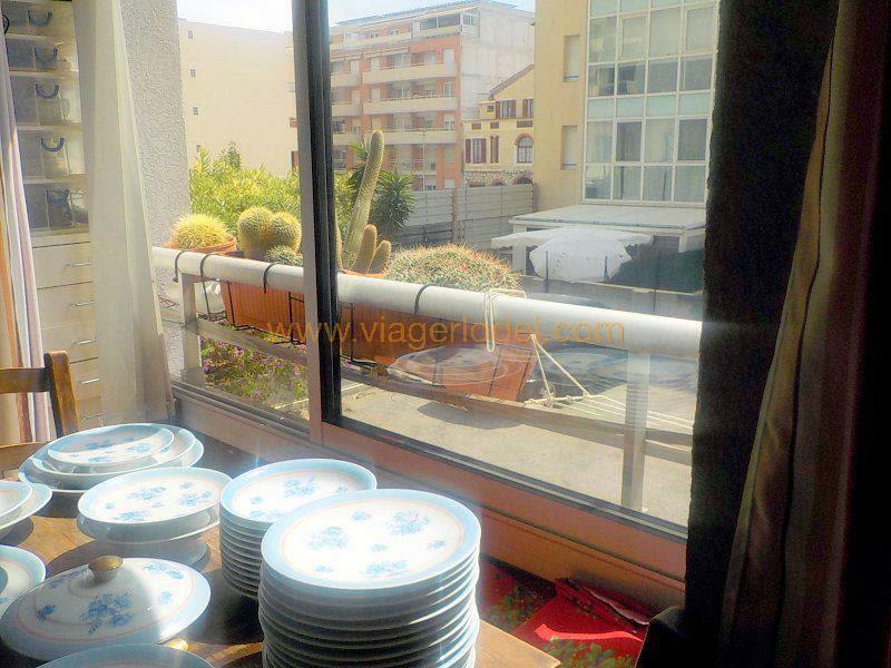 Verkauf auf rentenbasis wohnung Juan-les-pins 65000€ - Fotografie 3