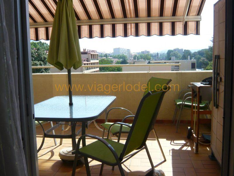 Lijfrente  appartement Toulon 42500€ - Foto 7