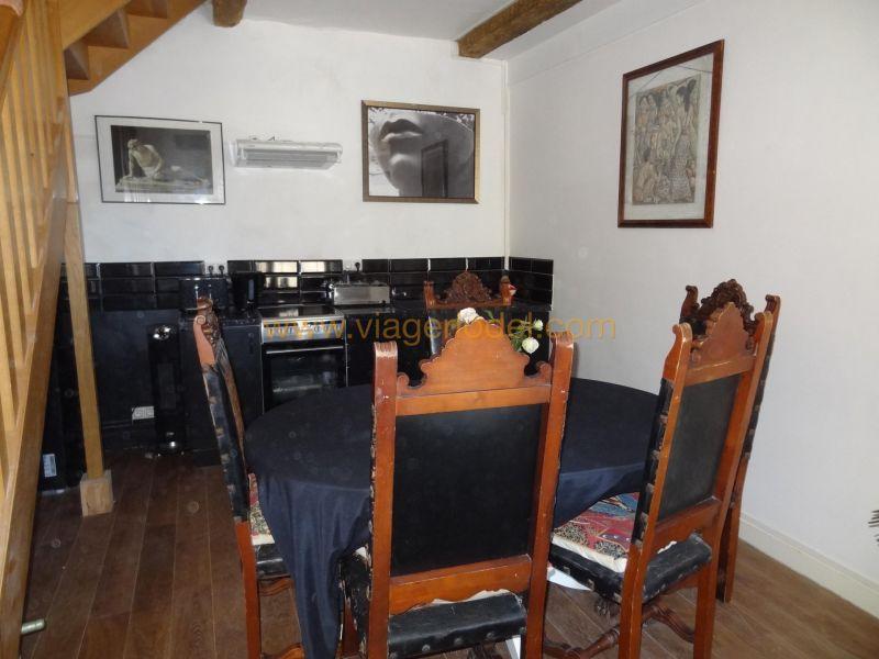 Verkauf auf rentenbasis haus Pouzolles 162500€ - Fotografie 5