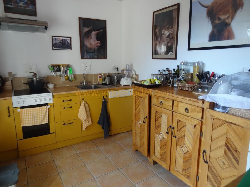 Verkauf auf rentenbasis haus Pouzolles 162500€ - Fotografie 3