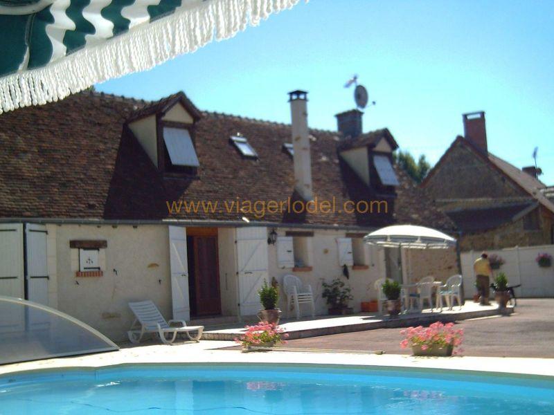 Life annuity house / villa Saint-christophe-en-bazelle 62000€ - Picture 1