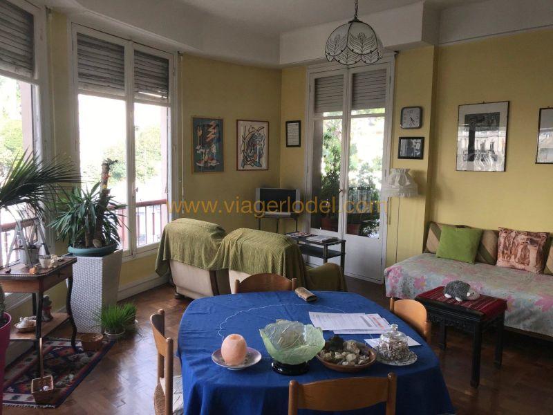 Vendita nell' vitalizio di vita appartamento Nice 89900€ - Fotografia 2