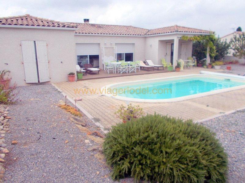 Verkauf auf rentenbasis haus Boutenac 172500€ - Fotografie 4