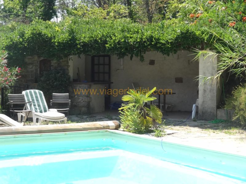 Life annuity house / villa Besseges 267500€ - Picture 4