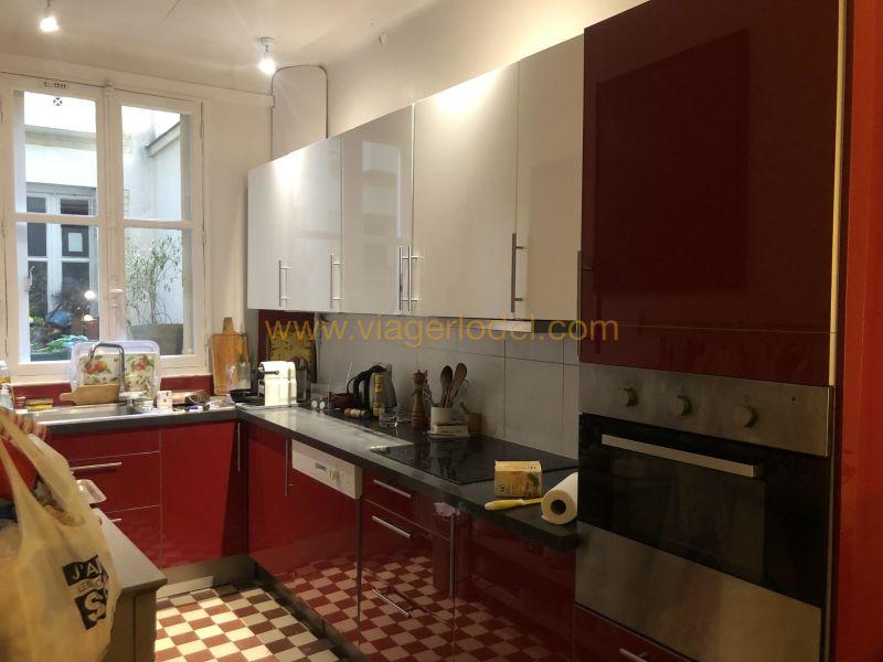 Verkauf auf rentenbasis wohnung Paris 20ème 95000€ - Fotografie 3
