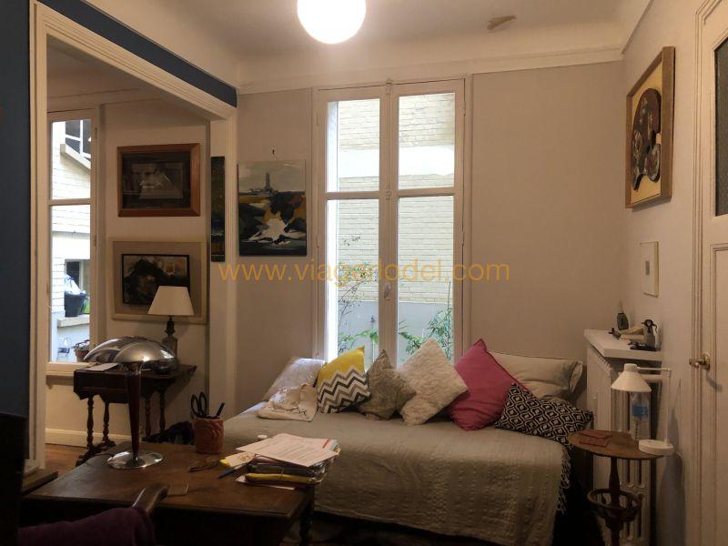 Verkauf auf rentenbasis wohnung Paris 20ème 95000€ - Fotografie 9