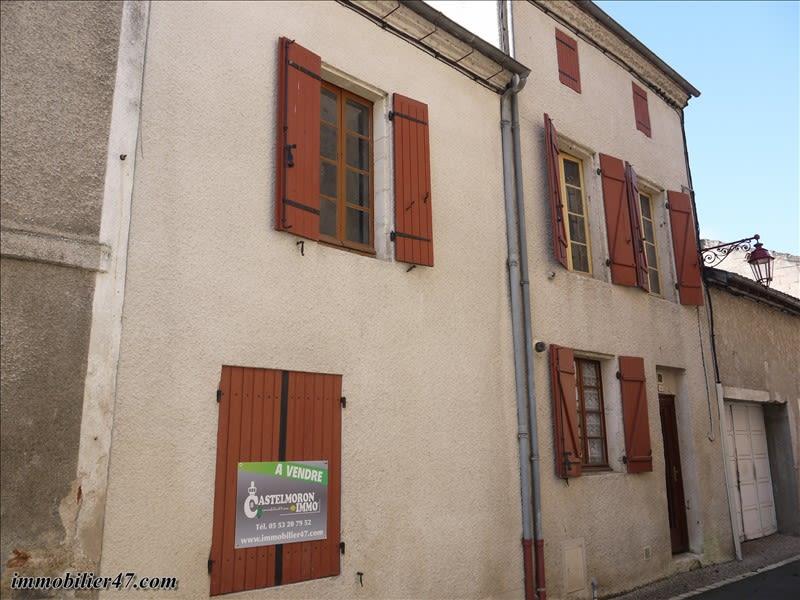 MAISON DE VILLAGE CASTELMORON SUR LOT - 5 pièces - 106 m²