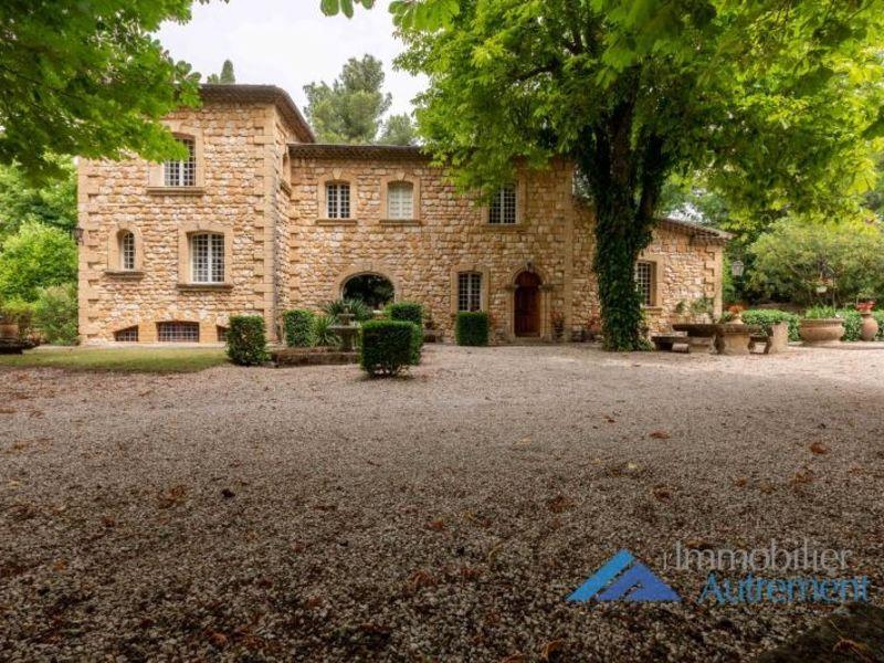 Sale house / villa Aix en provence 1880000€ - Picture 1