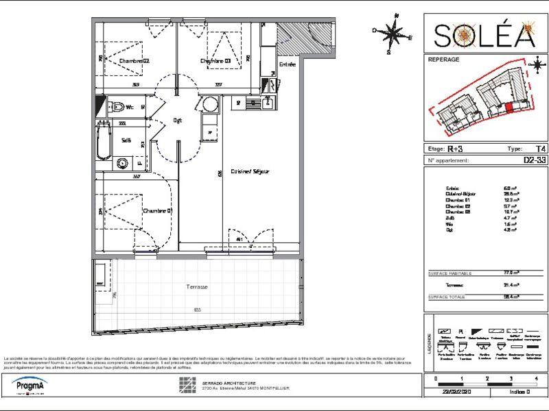 New home sale building Vendargues  - Picture 7