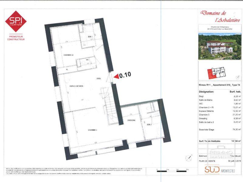 Vente appartement Saint didier au mont d or 825000€ - Photo 7