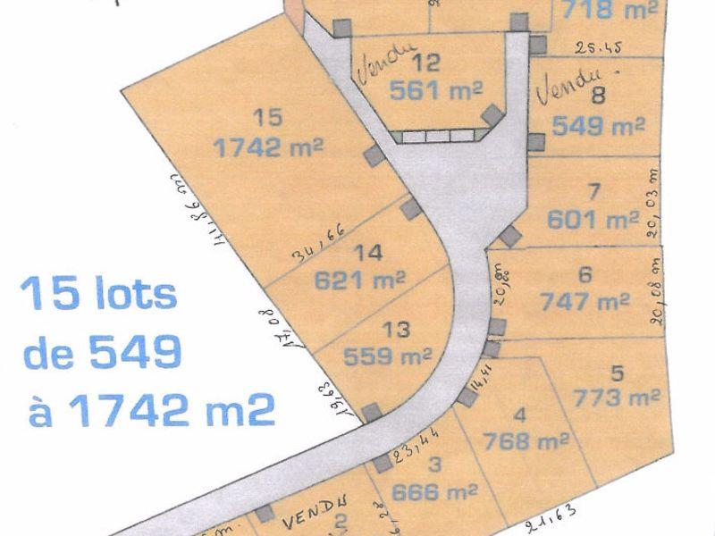 Verkauf grundstück Plomeur 53950€ - Fotografie 1