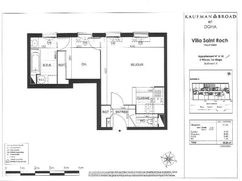 Location appartement Villejuif 967€ CC - Photo 5
