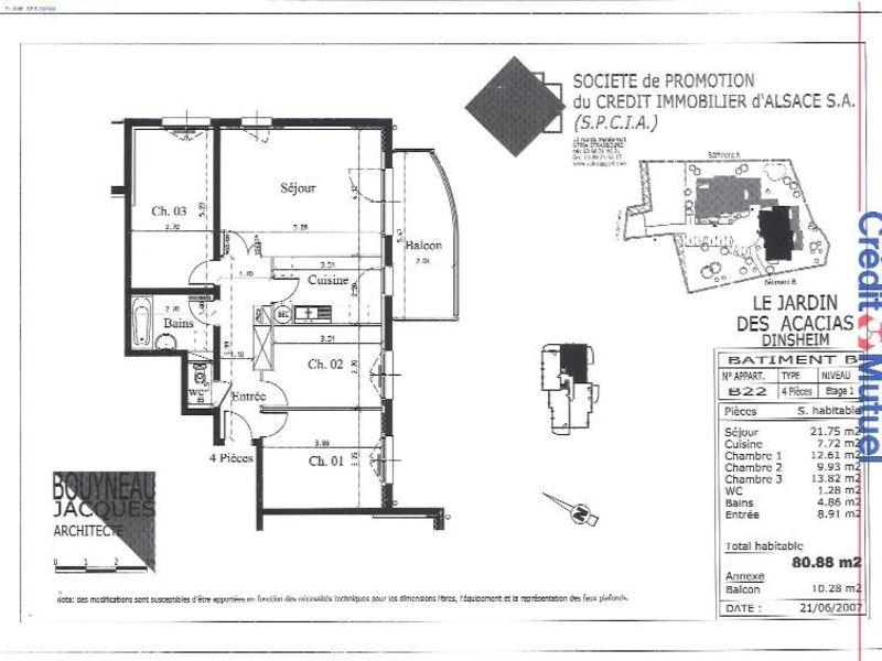 Location appartement Dinsheim 764€ CC - Photo 2