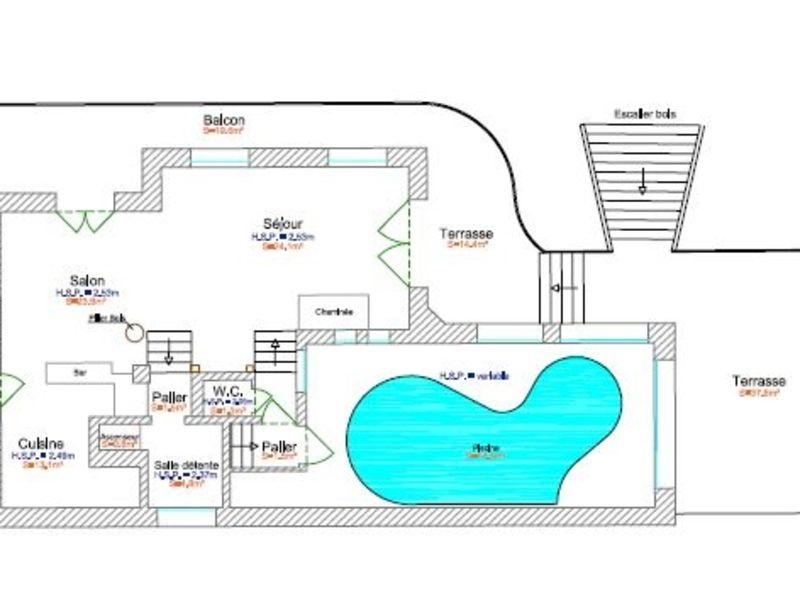 Vente maison / villa Meribel les allues 3820000€ - Photo 3