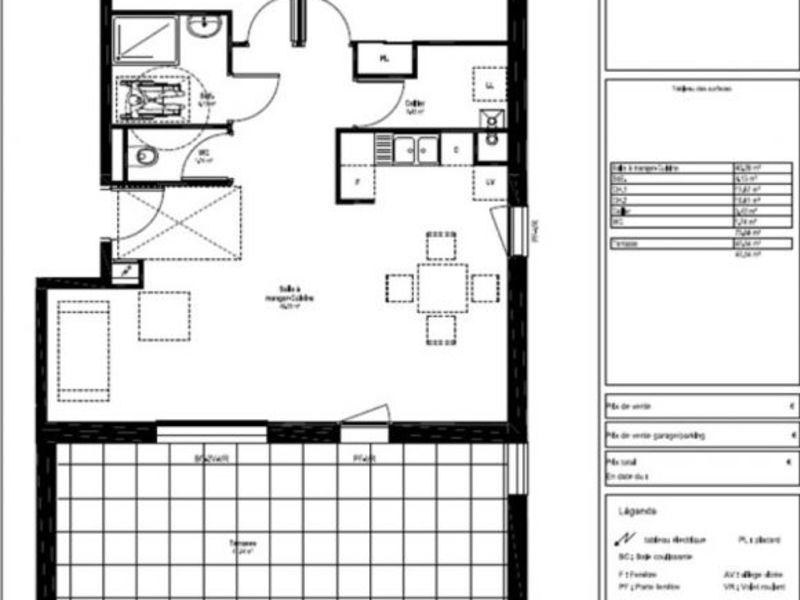 Vente appartement Bourg de peage 212000€ - Photo 2