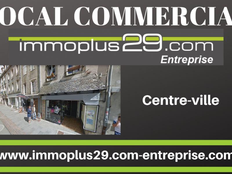 Location local commercial Quimper 1300€ HC - Photo 1