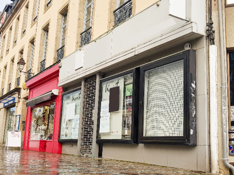 Location local commercial Quimper 1400€ CC - Photo 1