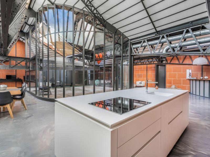 Loft d'exception avec terrasse et patio