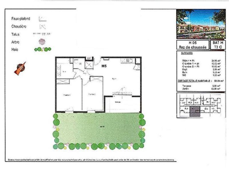 Sale apartment Plaisance du touch 199500€ - Picture 6