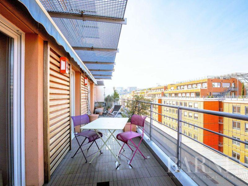Lyon 6 -  Cité Internationale - Appartement duplex dernier étage