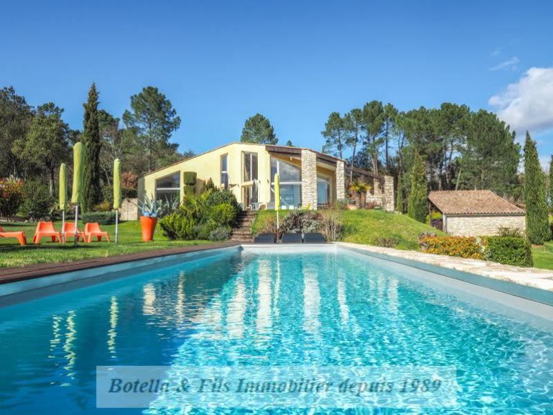 Vente maison / villa Barjac 690000€ - Photo 4