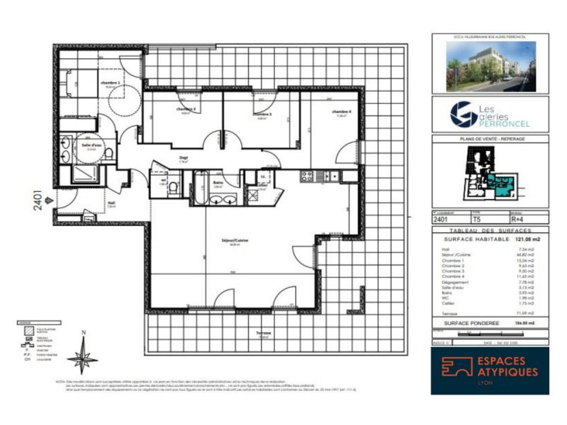 Vente appartement Villeurbanne 850000€ - Photo 2