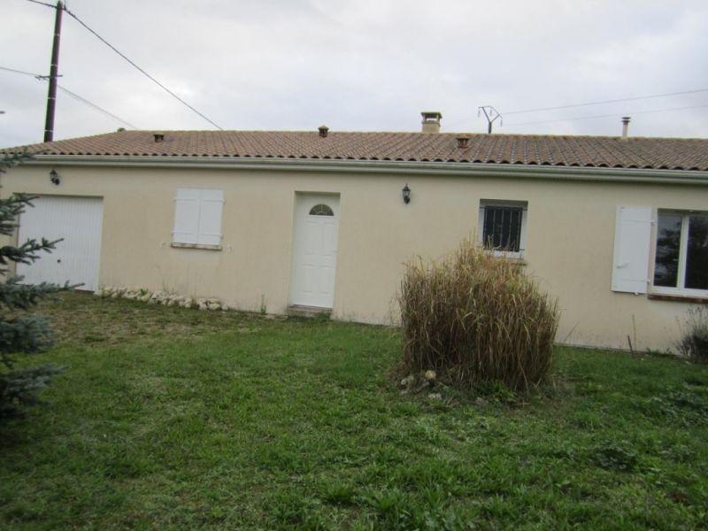 Vente maison / villa Condéon 131000€ - Photo 2
