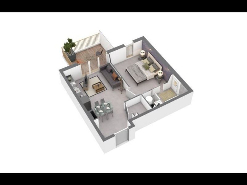 Vente appartement Ajaccio 157400€ - Photo 1