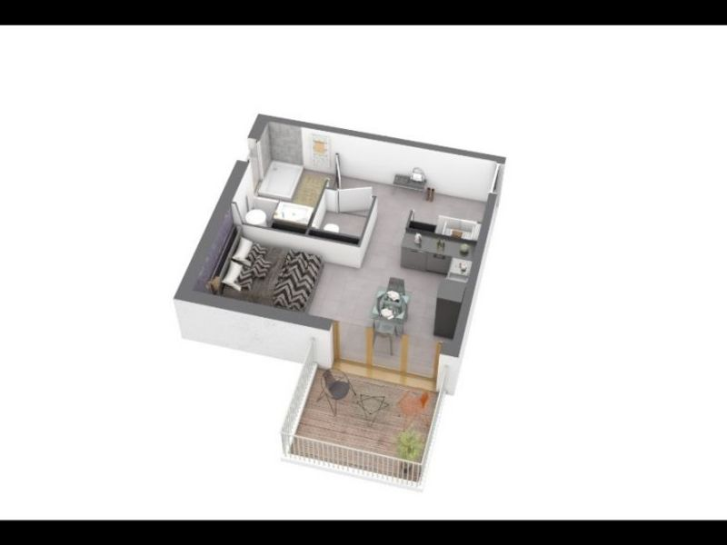 Vente appartement Ajaccio 127 300€ - Photo 1