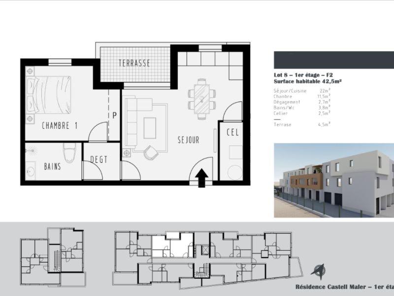 Vente appartement Argeles sur mer 152900€ - Photo 2