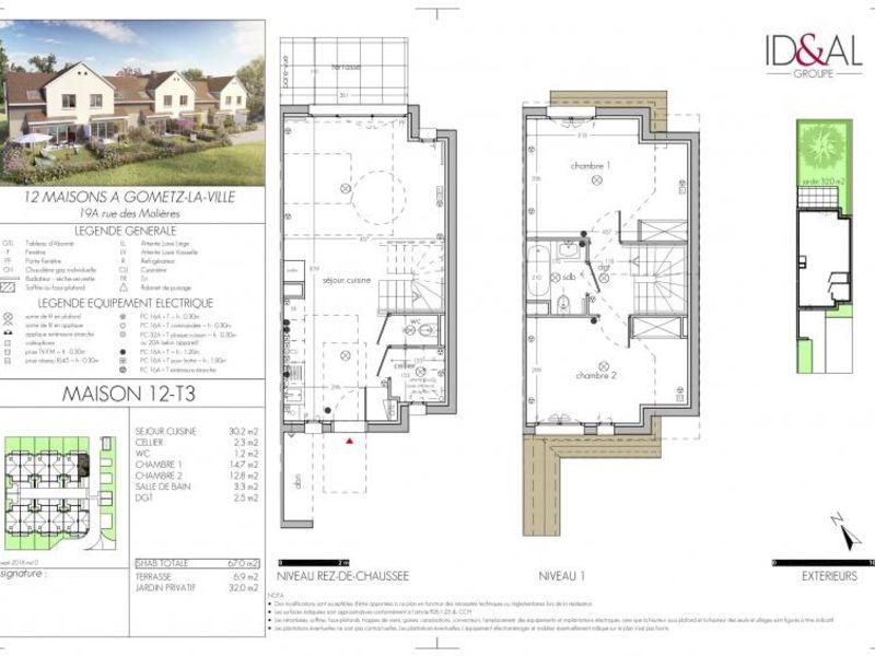 Sale house / villa Gif sur yvette 318811€ - Picture 1