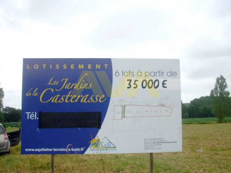 Verkoop  stukken grond Navarrenx 38000€ - Foto 3