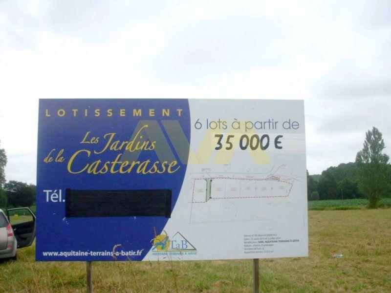 Vente terrain Navarrenx 38000€ - Photo 2