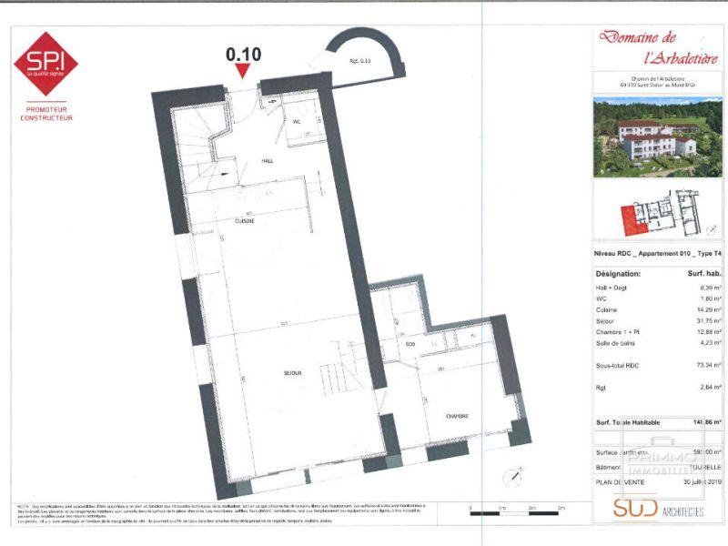 Vente appartement Saint didier au mont d or 825000€ - Photo 6