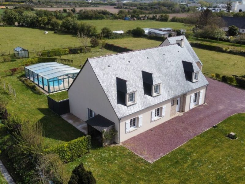 Vente maison / villa Portbail 475 000€ - Photo 1