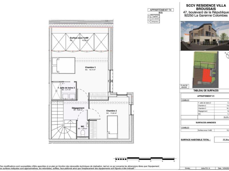Vente appartement Vitry sur seine 460000€ - Photo 3