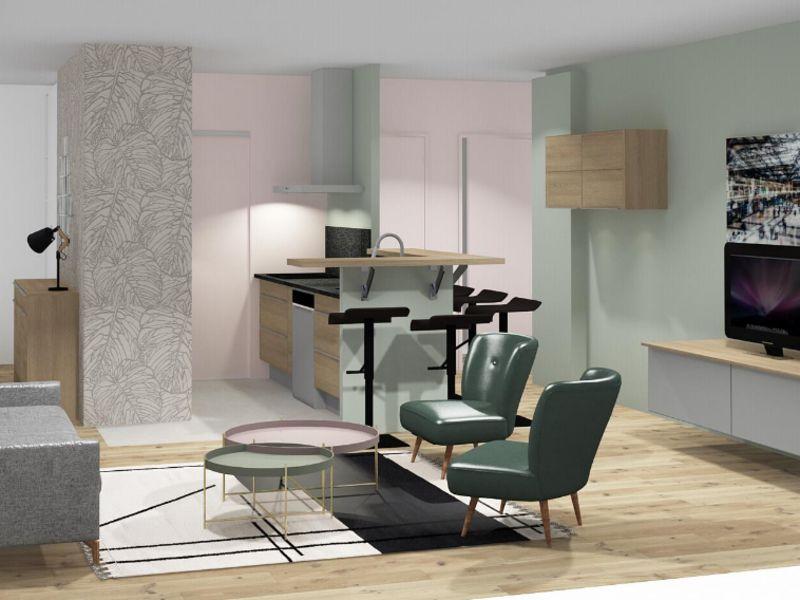 Sale apartment Lyon 6ème 620000€ - Picture 1