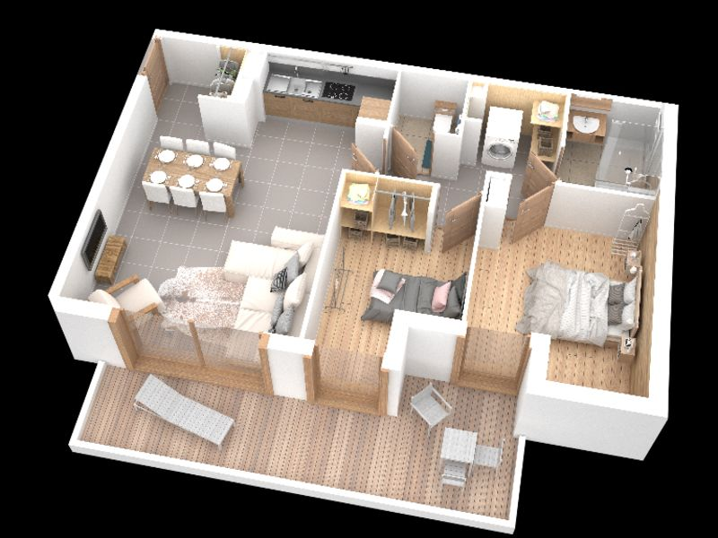 Vente appartement Samoens 339000€ - Photo 2